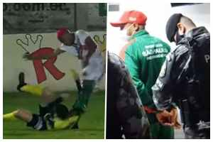 Footballer Arrested For Doing This To A Referee 1