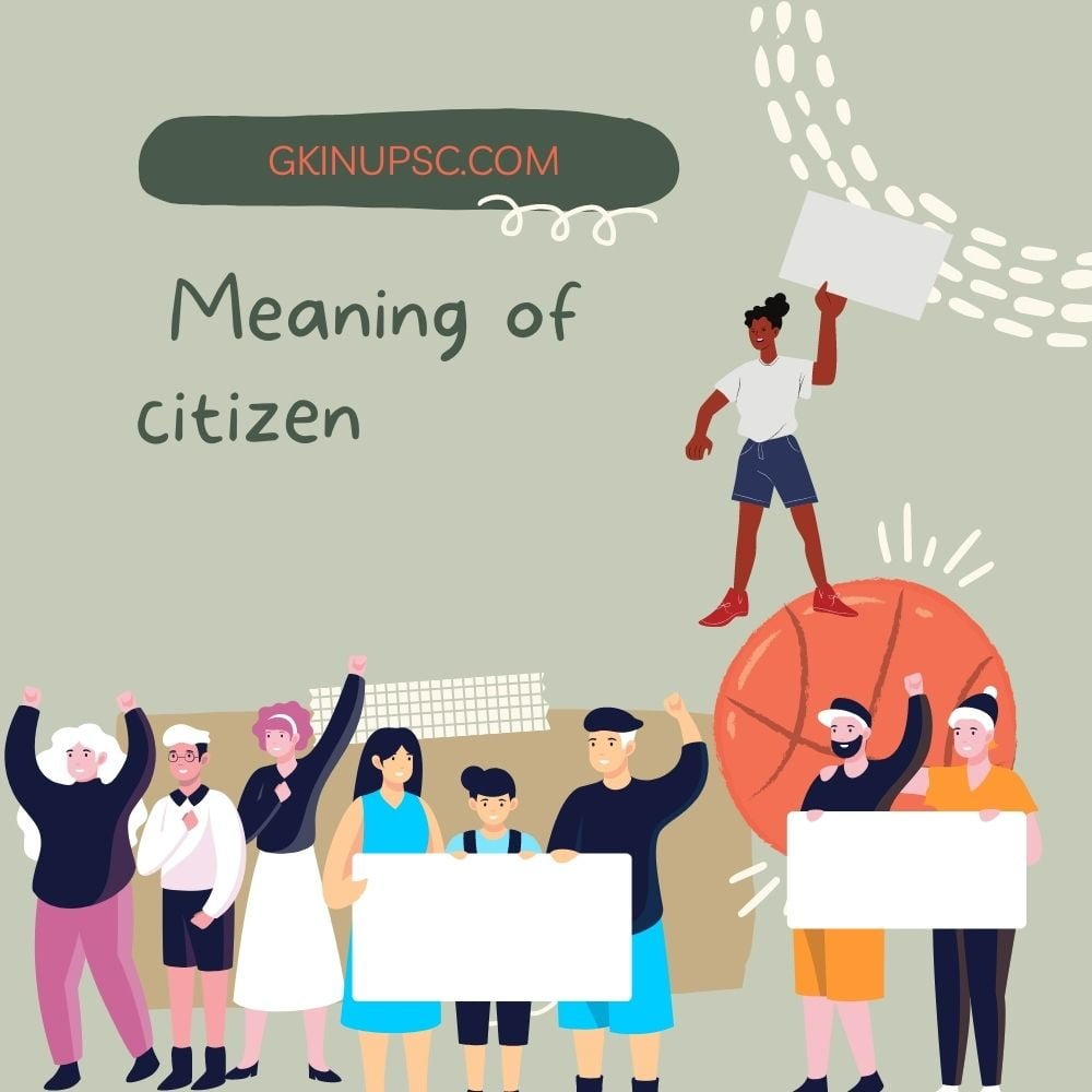 Meaning of citizen