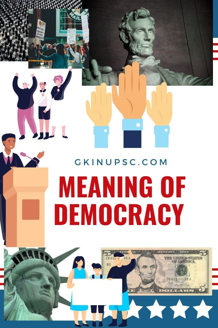 meaning of democracy