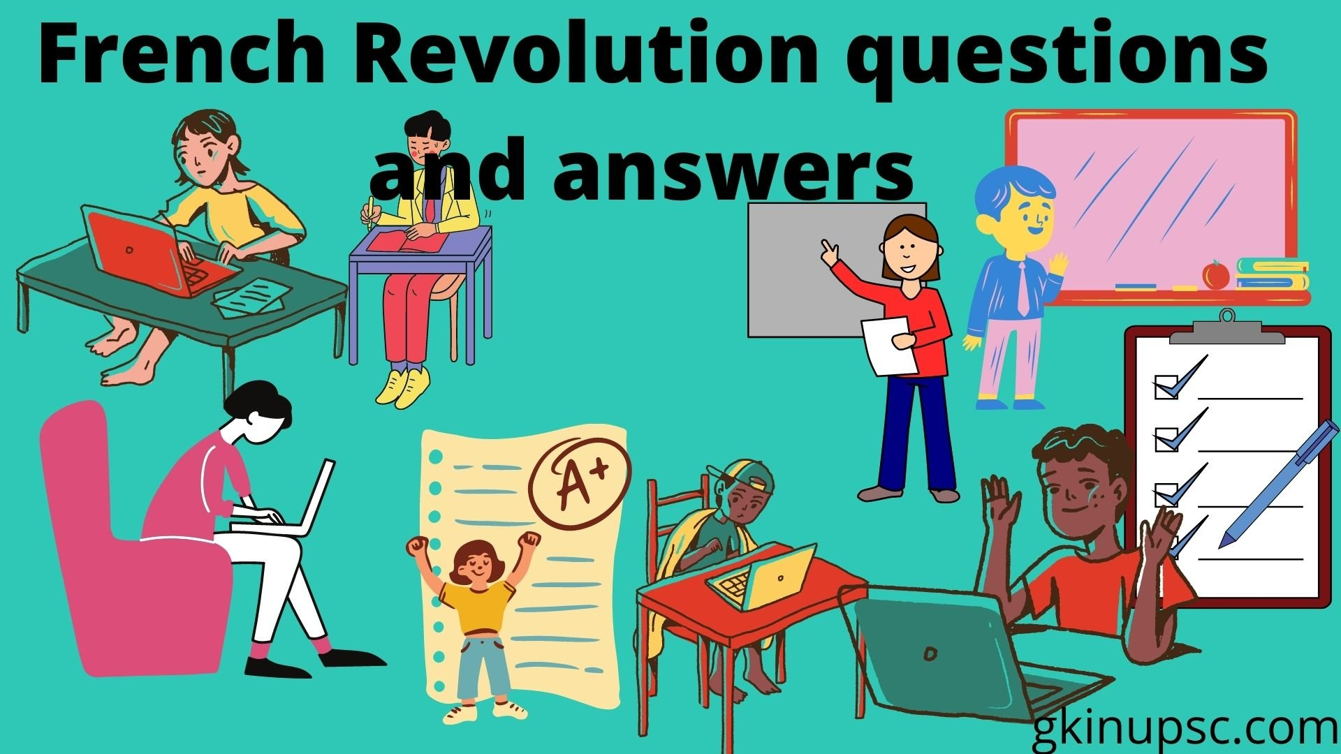 French Revolution questions and answers