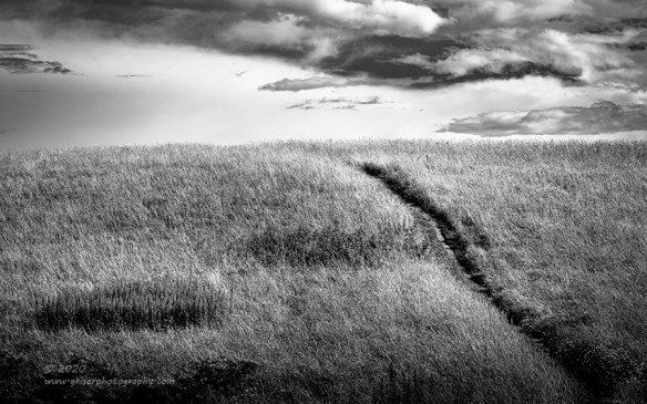 """""""Into the Never"""", Canon 5D mk3, 70-200mm f/2.8L Mk2, Singh-Ray Color Combo Polarizer, Converted to B&W in Lightroom"""
