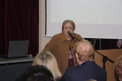 Ομιλία στη Δημ. Βιβλιοθήκη Περιστερίου