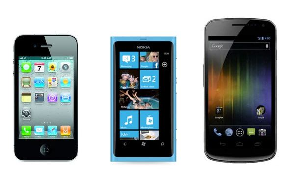 iPhone-vs-WP7-vs-Android