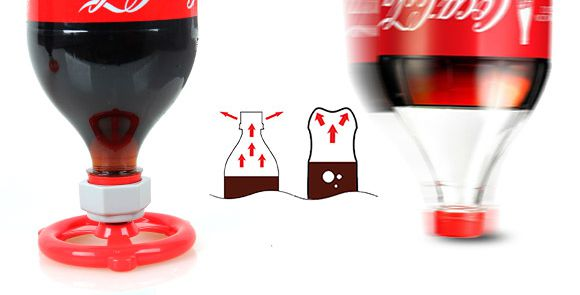 sodavalve-tampa-garrafa-coca-cola-cabeca-pra-baixo-evita-gas-saia-blog-geek-publicitario