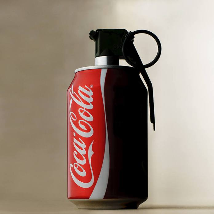 Anti-logo da Coca-Cola