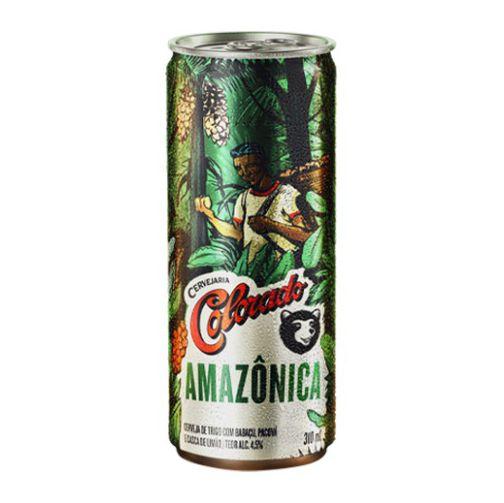 Lata da cerveja Colorado Amazônica.