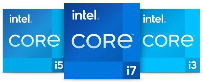 Novo logo adesivo Intel Core Inside.