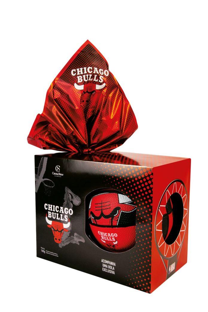 Ovo de páscoa do Chicago Bulls na Cacau Show