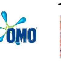 Logo da OMO ao lado do produto OMO peças intimas e biquínis