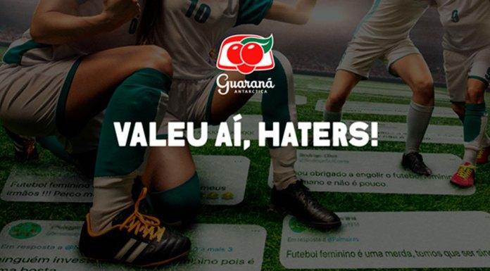 Banner da Guaraná escrito