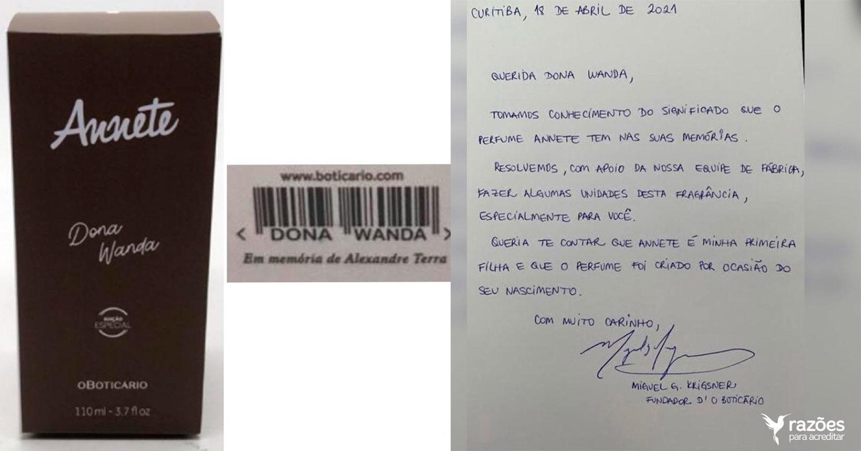 O Boticário relança perfume 'Annete' para mãe que perdeu filho com Covid-19  - GKPB - Geek Publicitário