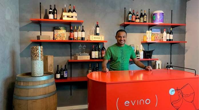 Foto de divulgação para o lançamento da loja online com sommelier da Evino.