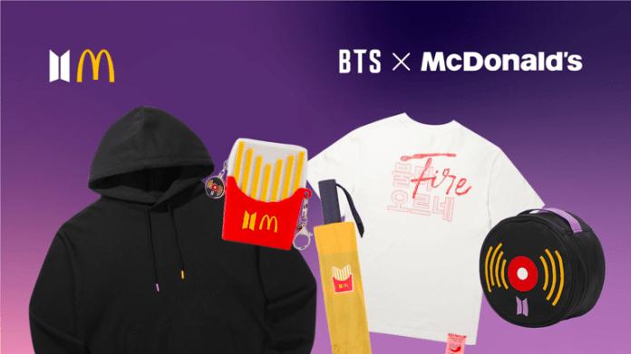 Méquizice do BTS chega aos restaurantes McDonald's em todo ...