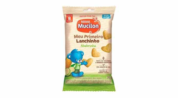 Snack para bebês de Mucilon.