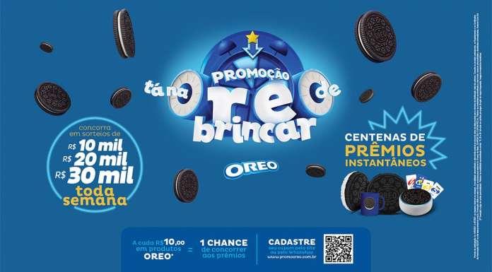 Foto de divulgação da promoção Tá na Oreo de Brincar.