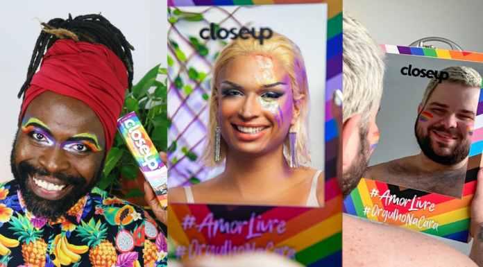 Dia do Orgulho LGBTQIAP+ Closeup