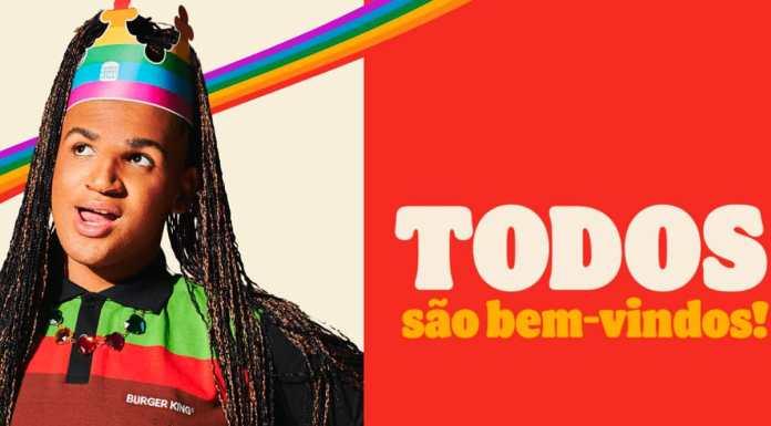 Campanha do Burger King para o Orgulho LGBT+.