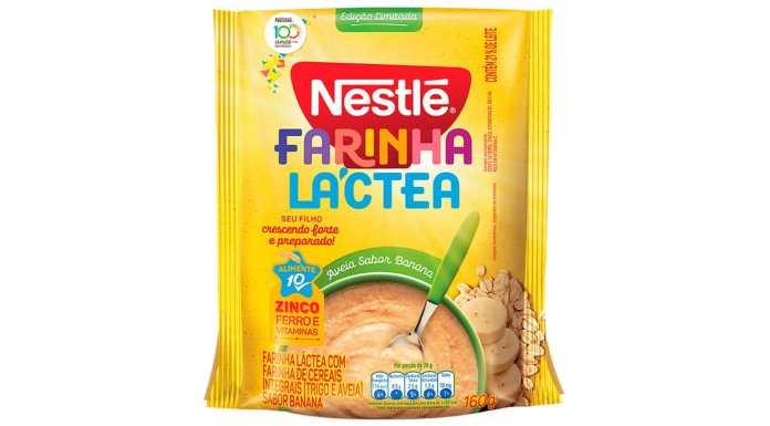 Farinha Láctea Nestlé sabor Banana.