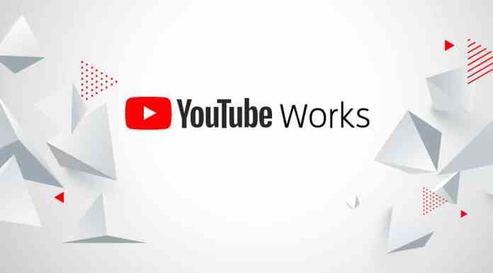 Banner do YouTube Works 2021