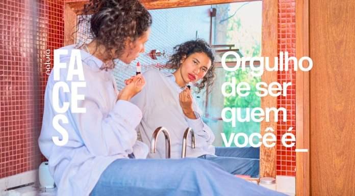 Foto de divulgação da campanha da Natura para o mês do orgulho LGBTQIA+.