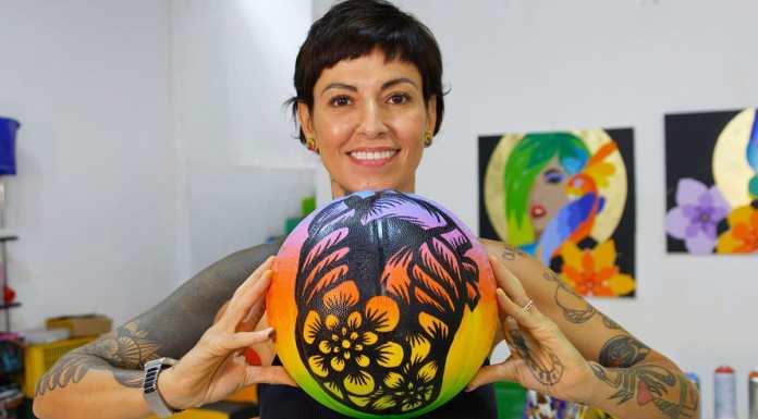 Rafaela Monteiro com a NBA para o Dia do Orgulho LGBTQIA+.