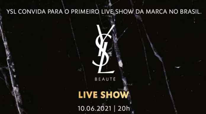 Yves Saint Laurent Beauté promove show.
