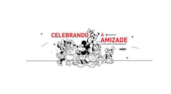 Disney para o Mês da Amizade.