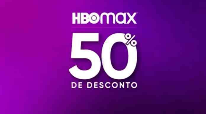 HBO Max 50% de desconto