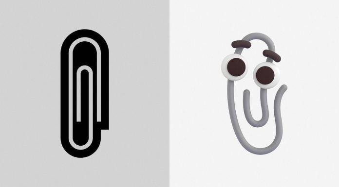 Microsoft emojis 3D: Clippy