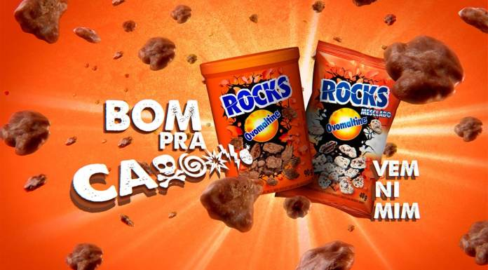 Campanha das reações de Ovomaltine Rocks.
