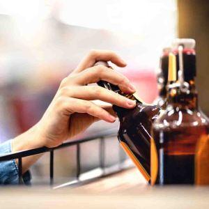 Остатки алкоголя на втором регистре