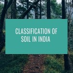 classification of soil in india