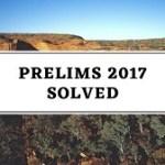 upsc prelims 2017