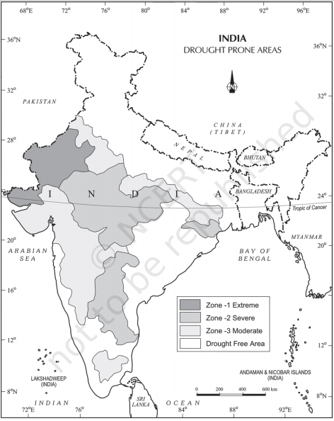 drought prone areas - Disaster Management
