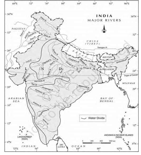 india major rivers - Rivers of India