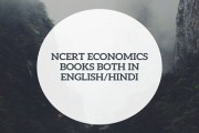 Download NCERT Economics Books For Competitive Exam