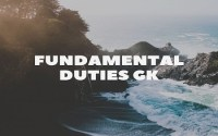 Fundamental Duties GK