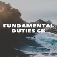 Fundamental Duties GK