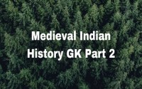 Medieval Indian History GK Part 2
