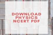 Download NCERT Physics Books For Competitive Exam