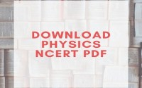 NCERT Physics