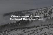 Vijayanagar Empire Cultural Development