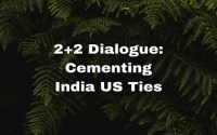 Cementing India US Ties