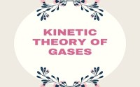 Kinetic Theory Of Gases