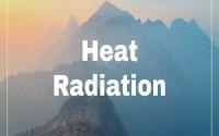 Heat Radiation
