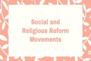 Social and Religious Reform Movements in Bengal and Elsewhere