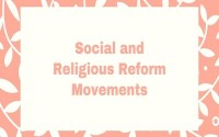 Social and Religious Reform Movements in Bengal
