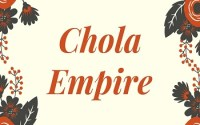 Chola Empire