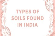 Types of Soils Found in India