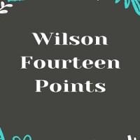 Wilson Fourteen Points